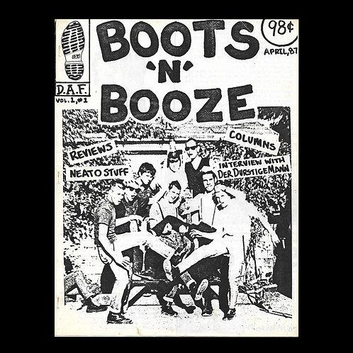 Boots N' Booze No.1 Vol.1