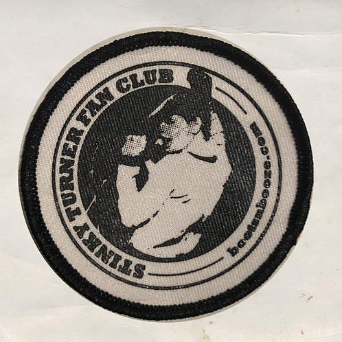 Stinky Turner Fan Club Patch