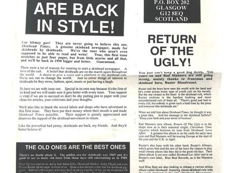 Skinhead Times #1 1989