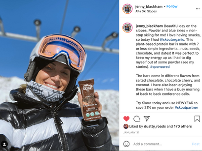 What does a quality influencer look like for your brand?
