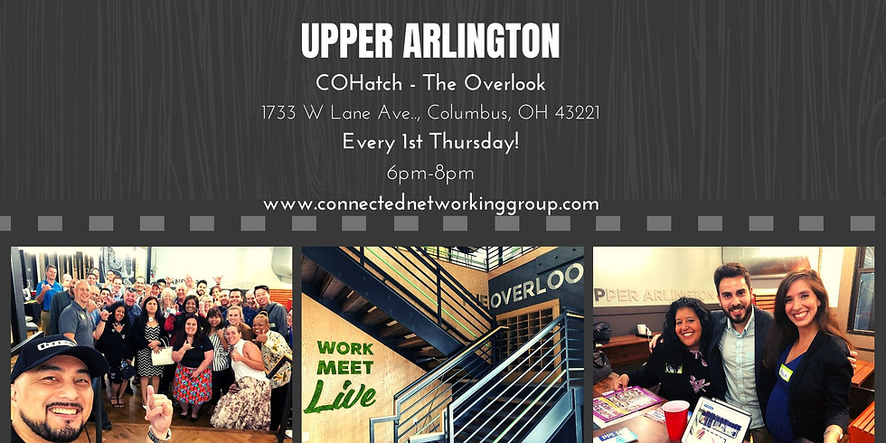 """CONNECTED - Upper Arlington @ COhatch """"The Overlook"""""""