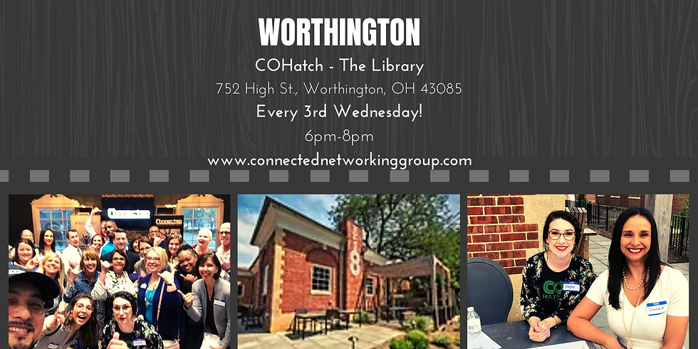 """CONNECTED - Worthington @ COhatch """"The Library"""""""