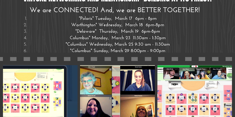 CONNECTED Columbus - VIRTUAL NETWORKING!