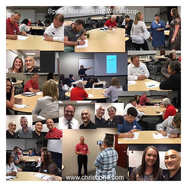Pics from Speed Networking Workshop. Awesome people make for an awesome event! You'll want to get co