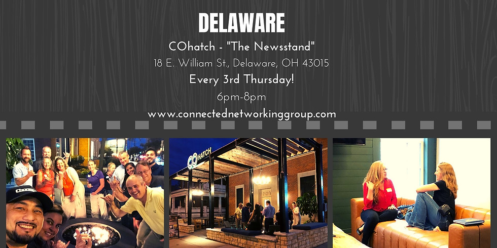"""CONNECTED - Delaware @ COhatch """"The Newstand"""""""