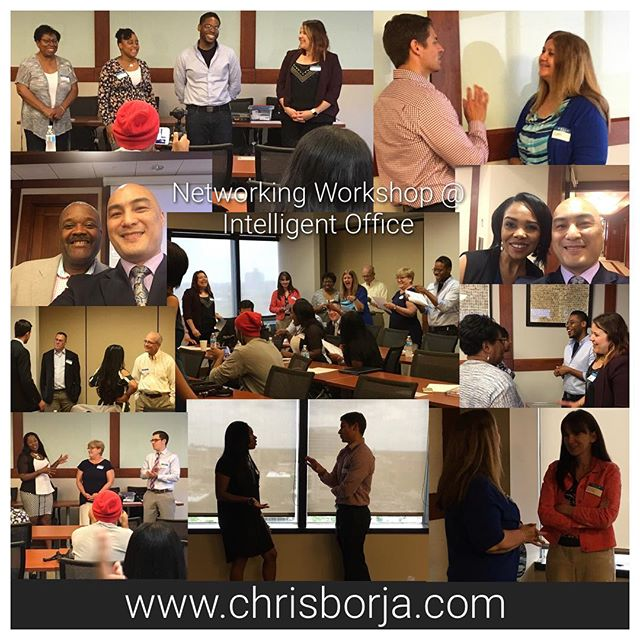 I think everyone had fun while learning how to Become a Better Networker today _ Intelligent Office