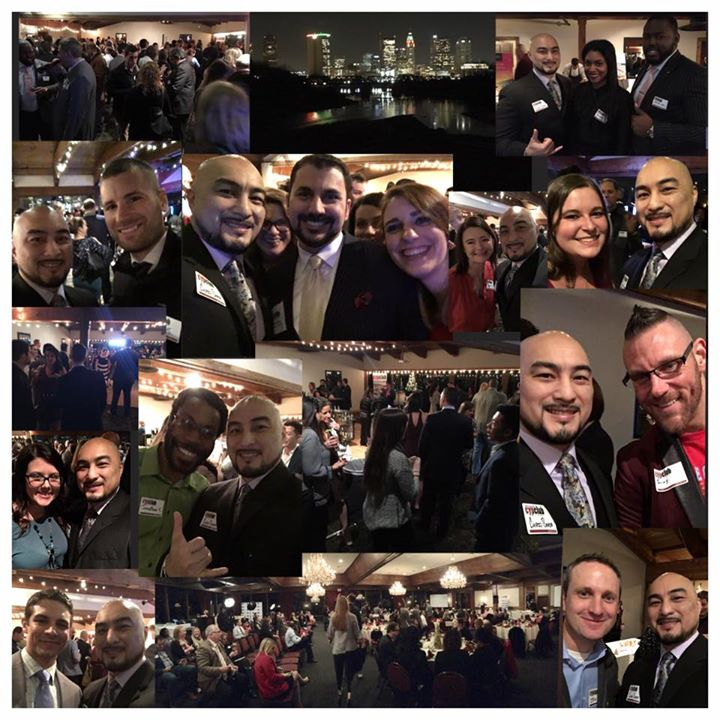 Over 400 in attendance for the Columbus Young Professionals (CYP) Year End Celebration and Young at
