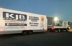 KJB Fabrication Trailer