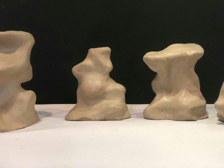 Sculptural Form development