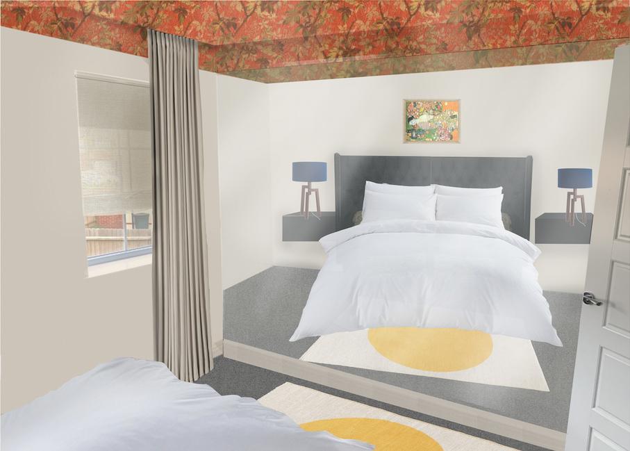 Carmania, Master Bedroom