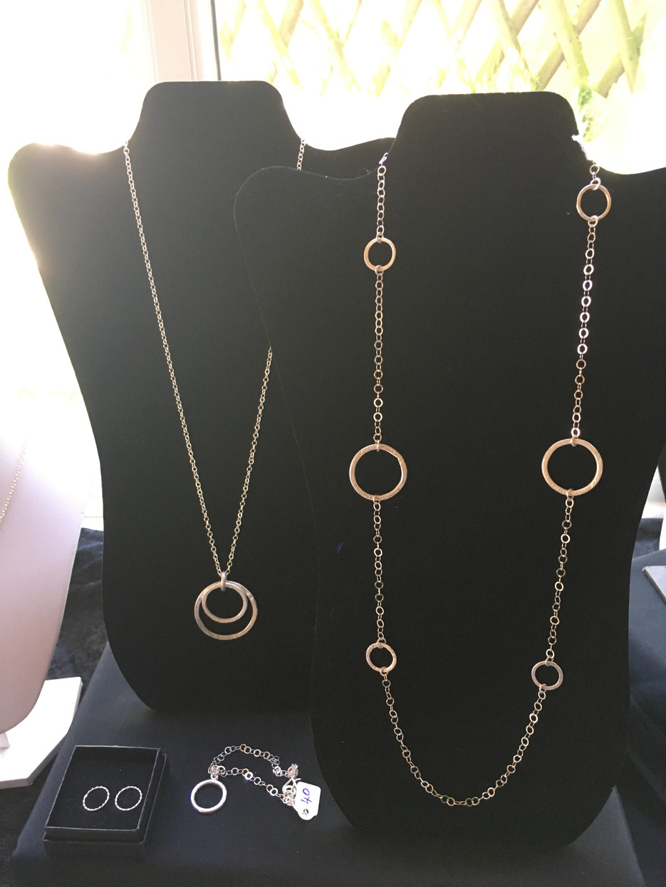 Orb necklace and chain
