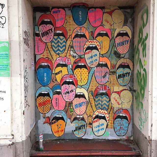 Blah blah blah Brighton grafitti