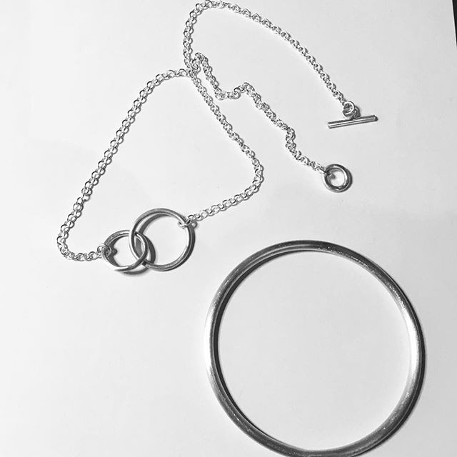 Jill commission necklace and bangle