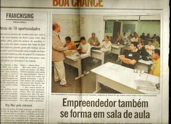 Matéria no Jornal O Globo destaca treinamento para empreendedores