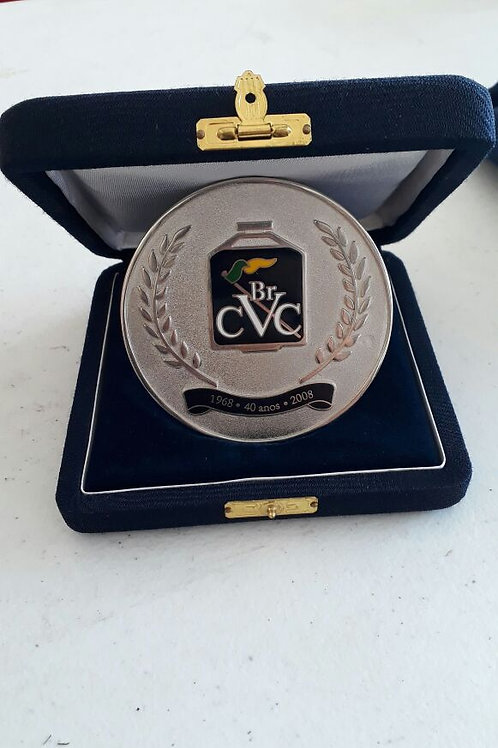Medalha comemorativa 40 anos