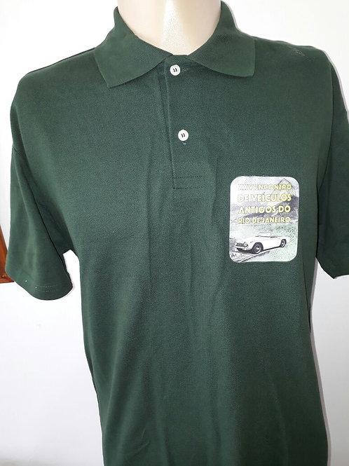Camisa verde evento anual