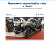 Exposição no Village Mall é notícia no Globo