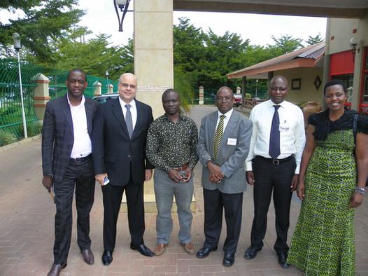 Treinamento Empretec para equipe de facilitadores de Zâmbia, África