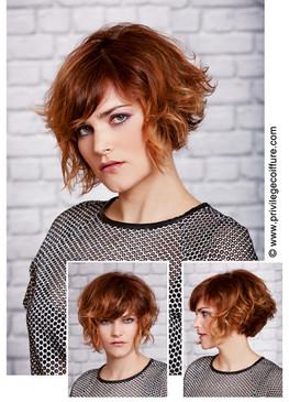 Hair model Privilège Coiffure, Paris