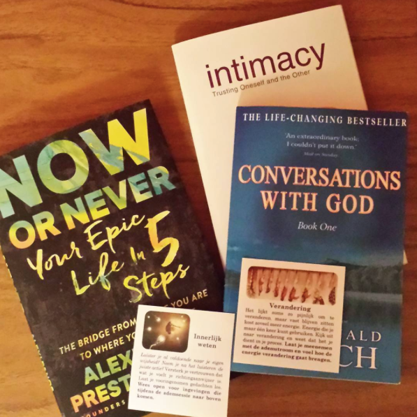 now or never conversations with god intimacy books