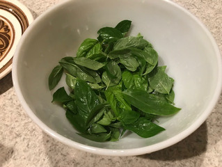 Pesto Without a Food Processor