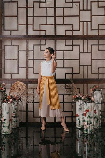 Yang Pleated skirt
