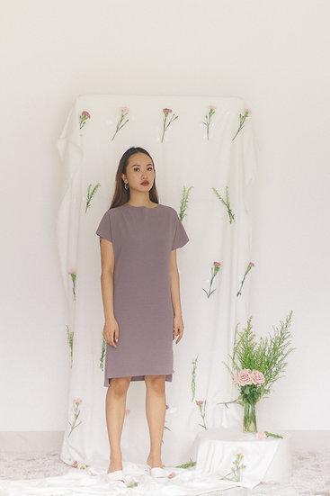 Alba Midi Dress Lilac