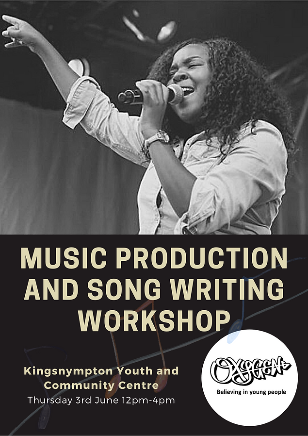 Music production and song writing worksh