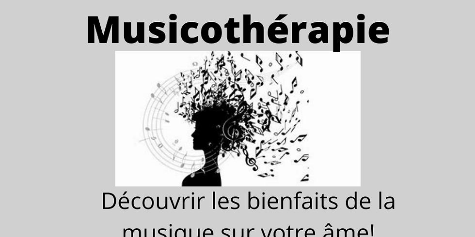 """Atelier musicothérapie """"découvrir les bienfaits de la musique"""""""