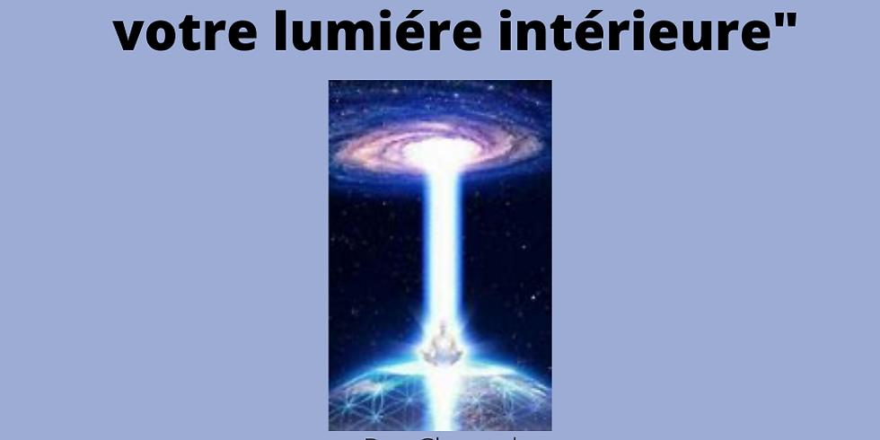 """Atelier Méditation """"Reconnectez-vous à votre lumière intérieure"""""""
