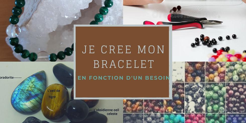Porte ouverte venez créer votre bracelet en pierre naturelle