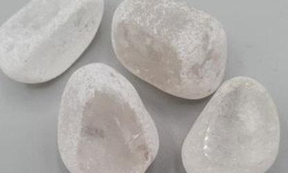 Cristal de roche Givré