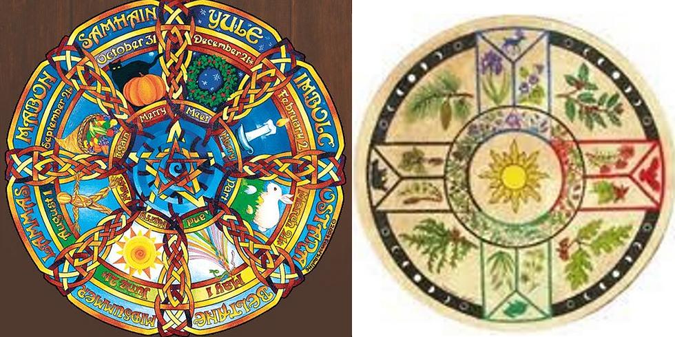 Célébrons la roue Celtique - Samhain -