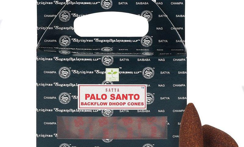 Cônes d'encens à refoulement Palo Santo