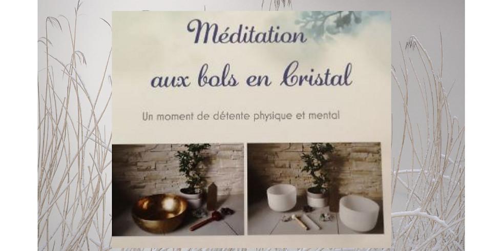 Seance de Méditation aux bols en cristal