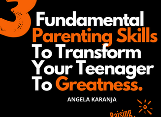Do You Want To Know 3 Fundamental Skills to Transform Your Teen's Negative Behaviour?