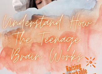 How The Teenager's Brain Works...ha. UnderstandingTeenagers'BrainHelps You Be More Compassionate.