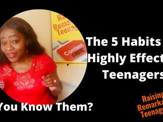 The 5 Habits Of Highly Effective Teenagers.