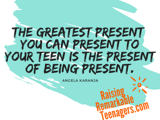 Do You Know The Greatest Present You Can Present To Your Teen To Mitigate Mental Health Problems?