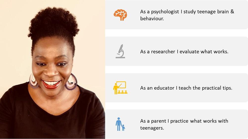 Parenting Consultant, Psychologist www.raisingremarkableteenagers.com
