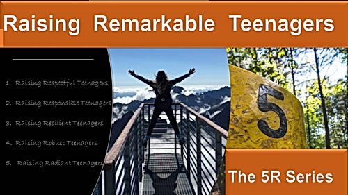 Raising Remarkable Teenagers front cover