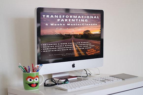 Transformational Parenting MasterClasses