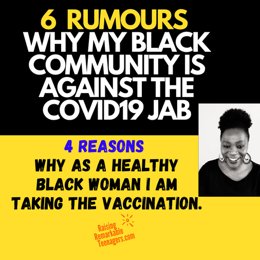 6 Rumours in my black community about #COVID19 jab, 4 reasons why I am taking it anyway.