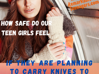 How Safe Do Our Teen Girls Feel?