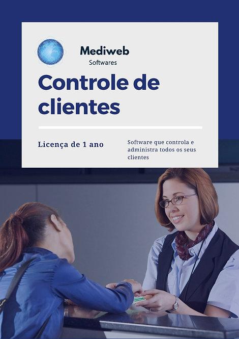 Controle de clientes - 1 ano
