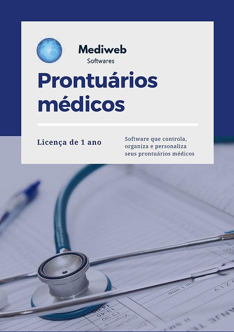 Prontuário Médico - 1 ano