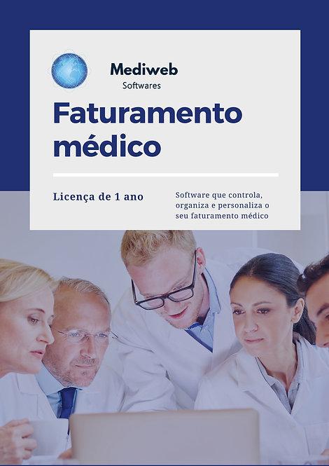 Faturamento Médico - 1 ano