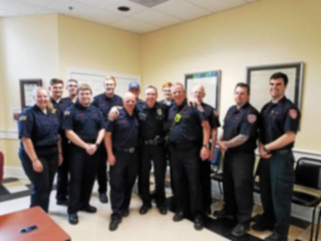 North Penn Fire says goodbye to police c