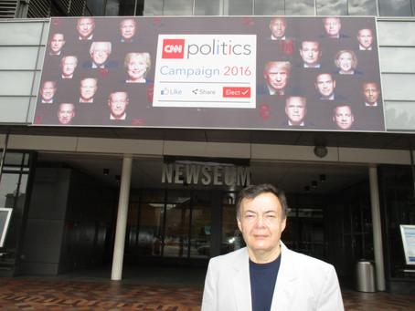 Newseum, un museo ideal para el estudio de la comunicación política