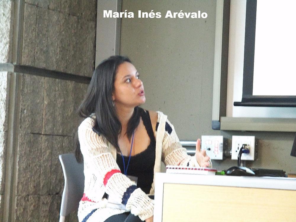 María Inés Arévalo en ACCPOL 2016